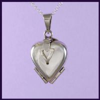 Heart Locket for Four Pictures